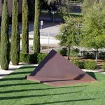 Pyramid Sculpture at the Cantor