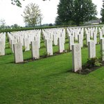 WWII British Cemetery in Bayeux