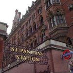 St Pancras station entrance