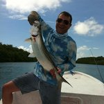 Tarpon on the fly with Raf--the barefoot fisherman!