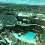 View From 35th Floor overlooking the pools