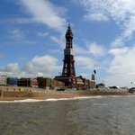 Blackpool Tower from the North Pier