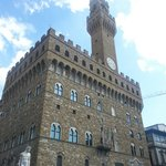 The stunning Palazzo Vecchio in Firenze