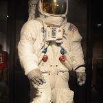 Suit worn by Neil Armstrong