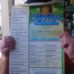 The Hat & the Menu