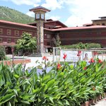 Druk Hotel in Town Clock Squre at Thimphu