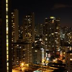 Honolulu at night, view from unit 2402