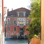 View of Hotel from the other side of the Grand Canal