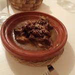 Delicious lamb tajine on final night