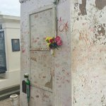 Tomstone of Marie Laveau in St Louis Cemetery No. 1