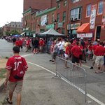 Street view of sports bars on game day - Adjacent to Hampton