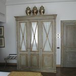 Armoire in room