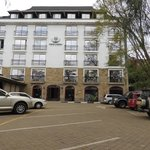 THE NAIROBI UPPERHILL HOTEL AND MORE PARKING IS AVAILABLE..