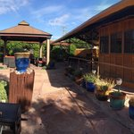 Pano of patio