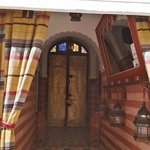 Riad entrance (view from inside)