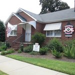 Joe Jackson's home was moved into Greenville and restored.