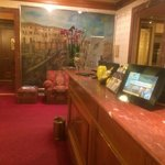 Lobby n front desk area