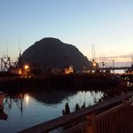 Morro Bay at night