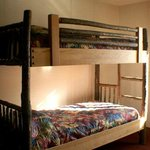 Deluxe Country Rustic Room - bunk bed detail