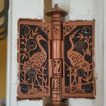 Minor details which are beautiful! Door hinges...