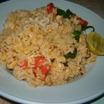 Kao Phat Gai (Fried Rice with Chicken)