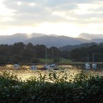 Sunset from Ambleside Youth Hostel