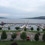 Seneca Lake view from the fourth floor room.