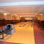 Bowling Alley in the basement