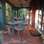 Side porch--great for relaxing