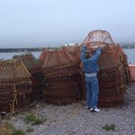 clay explaining how lobster pots work