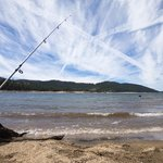 Fishing at Huntington Lake