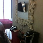 nice mirror in room