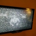 what my TV picture looked like