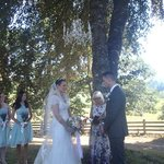 Outdoor Wedding picture perfect