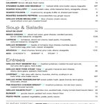 6512' Restaurant and Lounge's new menu from our new Chef Eric Frost!  Enjoy
