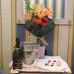 Romantic package in room upon arrival