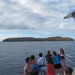 enroute to Molokini Crater