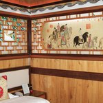 The Li An Lodge offers custom designed sleeping rooms in many colors!