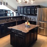 Kitchen in the executive suite. Beautiful!