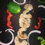 We upgraded in size on our wild-caught, Gulf Coast shrimp, grilled fresh for each order!