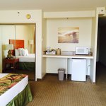 King sized bed Junior suite