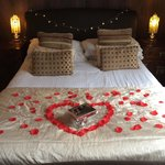 Romantic package at howbeck