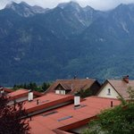 View of Austrian Alps from our room.