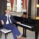 Visiting the hotel inspired me to write a piano concerto
