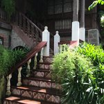 Leading to the 2nd floor of Casa Obando.