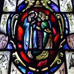 A sliver of the church's visual delights
