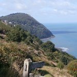 Looking across to Lynmouth from the SW coastal path