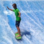 Surfing on the FlowRider
