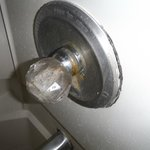 Mould on Shower fittings