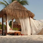 Private Cabana on the Beach